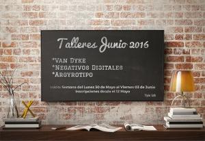 Flyer Talleres Junio 2016