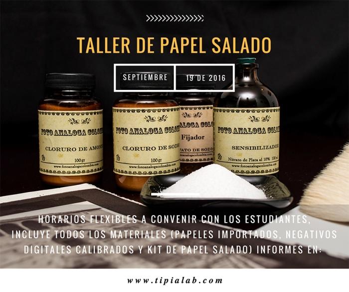 taller de Papel Salado