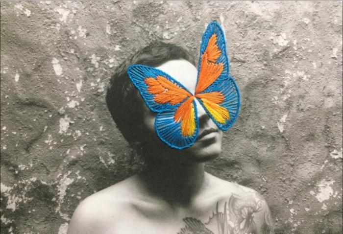 Mayra Biajante artista brasilera foto bordado Tipia lab, escuela de fotografia química y alternativa, fotografia artesanal, artistica, arte fotografico, bogota 2
