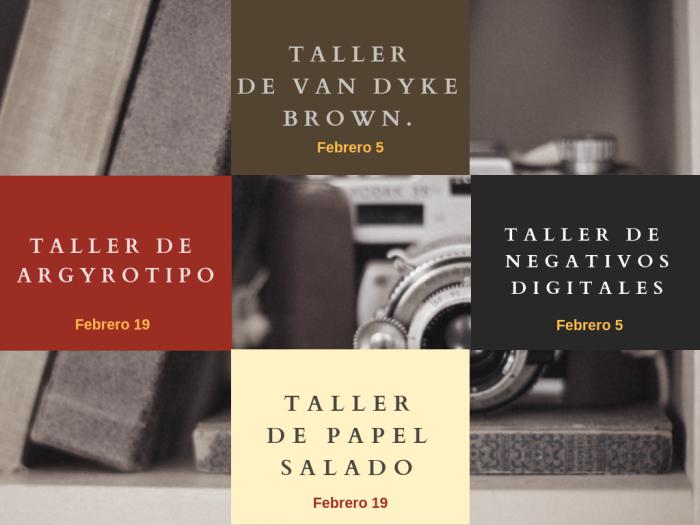 Talleres de fotografia Analoga 2019 Tipia lab